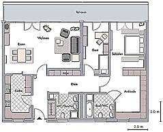 hopf ieg eigentumswohnungen in der villa werden grundrissbeispiele. Black Bedroom Furniture Sets. Home Design Ideas